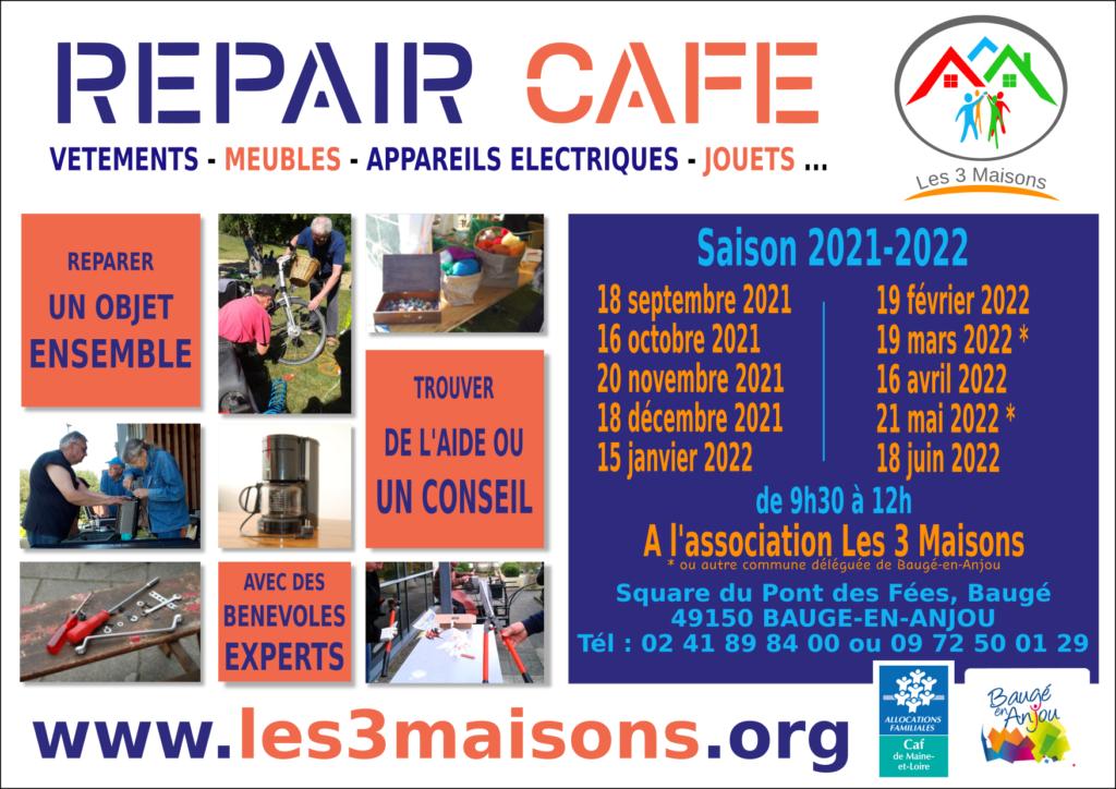 Agenda Repair Café 2021-2022